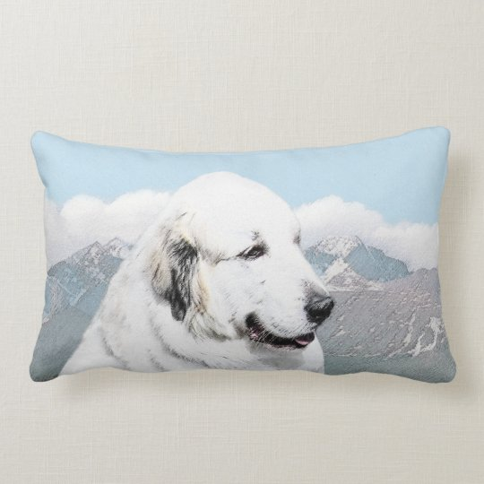 Great Pyrenees Lumbar Pillow