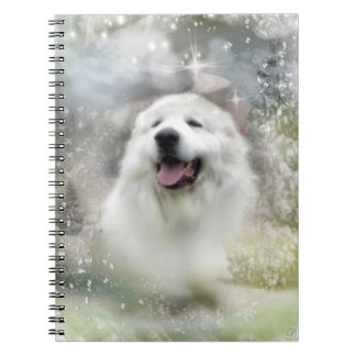 Great Pyrenees Notebook - Winter Season Design