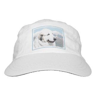 Great Pyrenees Painting - Original Dog Art Hat