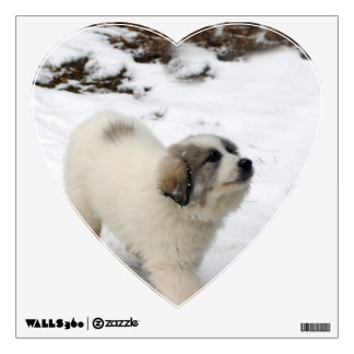 Great Pyrenees Puppy Wall Sticker