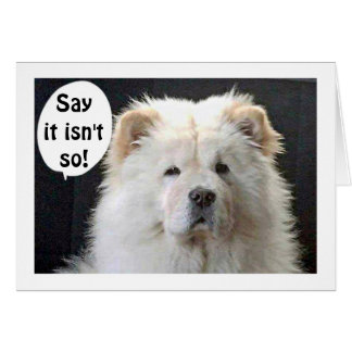 """GREAT PYRENEES SAYS FABULOUS AND """"40"""" CARD"""