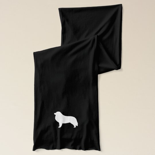 Great Pyrenees Silhouette Scarf