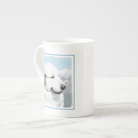 Great Pyrenees Tea Cup