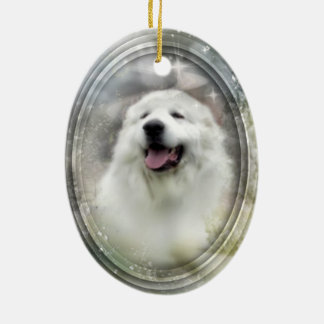 Great Pyrenees XMas Ornament