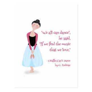 Great Quotations_Dance Postcard