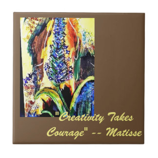 Great Quotes Artist's Tile