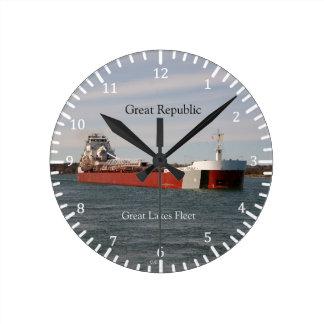 Great Republic clock