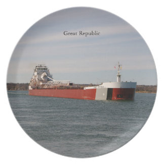 Great Republic plate