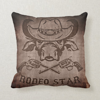 Great Rodeo Star Pillow! Throw Pillow