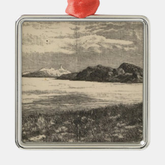 Great Salt Lake Desert Metal Ornament
