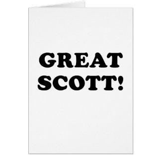 Great Scott Card