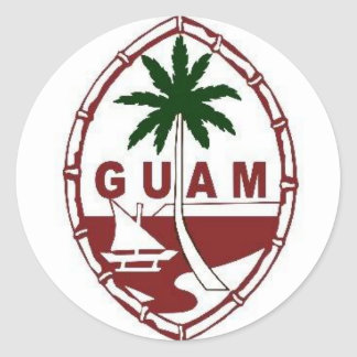 Great seal of Guam Round Sticker