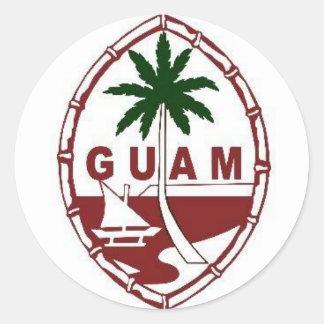 Great seal of Guam Round Sticker