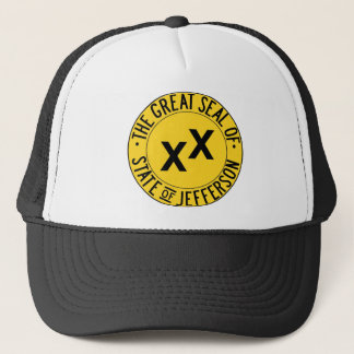 Great Seal of Jefferson Trucker Hat