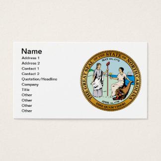 Great seal of North Carolina Business Card