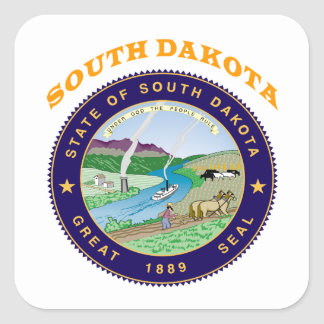Great Seal Of  State South Dakota