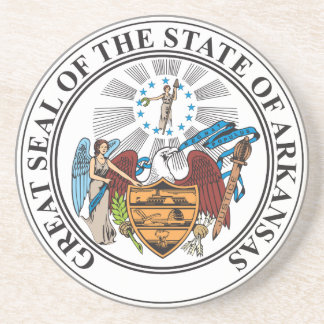 Great seal of the state of Arkansas Coaster