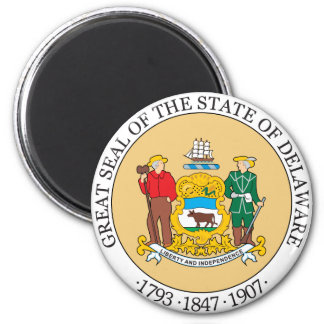 Great seal of the state of Delaware Magnet
