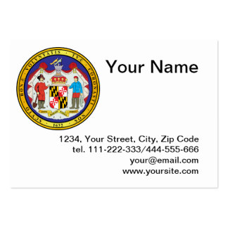 Great seal of the state of Maryland Business Card