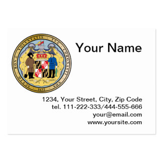 Great seal of the state of Maryland Large Business Card