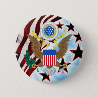 Great seal of the United States 2 Inch Round Button