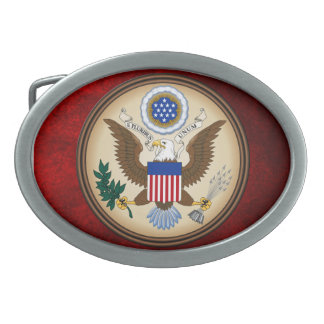 GREAT SEAL OF THE UNITED STATES BELT BUCKLES