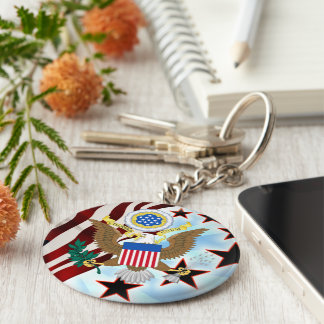 Great seal of the United States Keychain