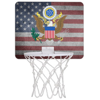 Great seal of the United States Mini Basketball Hoop