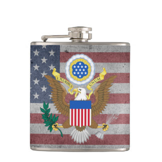 Great seal of United States Flask