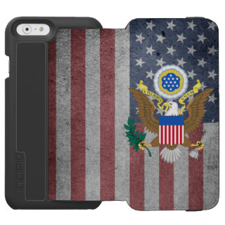 Great seal of United States Incipio Watson™ iPhone 6 Wallet Case