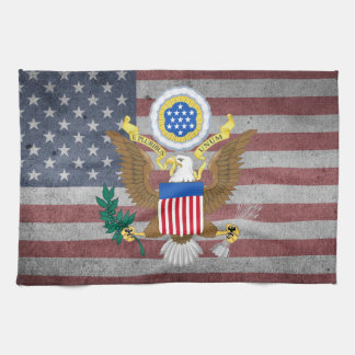 Great seal of United States Kitchen Towel