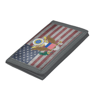 Great seal of United States Tri-fold Wallets