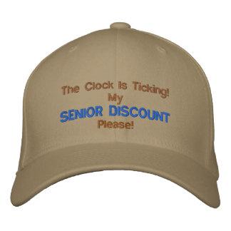 GREAT  SENIOR  MOMENTS EMBROIDERED BASEBALL CAP