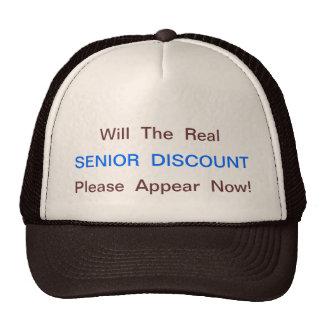 GREAT SENIOR MOMENTS TRUCKER HAT