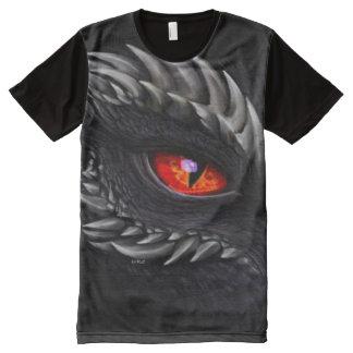 Great Shadow Dragon eye Airbrush Fantasy Art