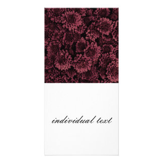 great shimmering flowers pink(I) Photo Card