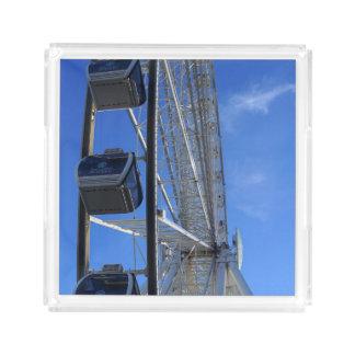 Great Smoky Mountain Wheel Acrylic Tray