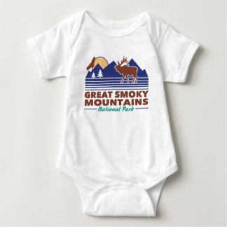 Great Smoky Mountains Baby Bodysuit
