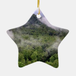 Great Smoky Mountains Ceramic Star Ornament