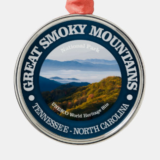 Great Smoky Mountains Metal Ornament