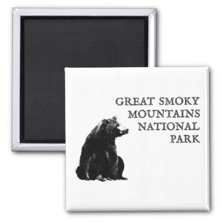 Great Smoky Mountains National Park Magnet