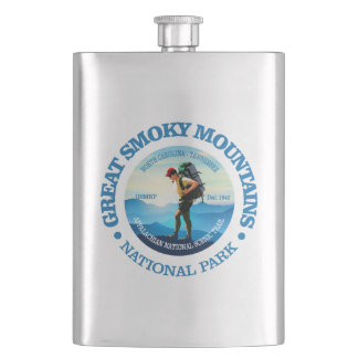 Great Smoky Mountains NP (Hiker C) Flask