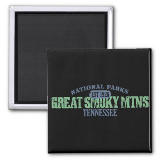 Great Smoky Mtns National Park Magnet