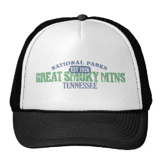 Great Smoky Mtns National Park Trucker Hat