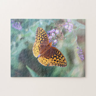 Great spangled fritillary butterfly jigsaw puzzle