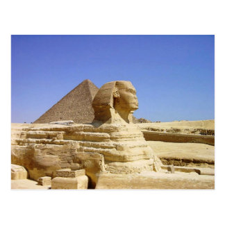 Great Sphinx of Giza Postcard