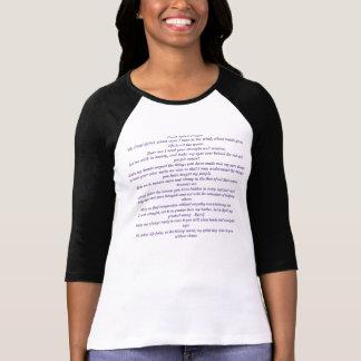 Great Spirit Prayer, Ladies 3/4 Sleeve Raglan T-Shirt