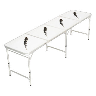 Great Spotted Woodpecker Feather Ping Pong Table