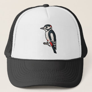 Great Spotted Woodpecker Trucker Hat