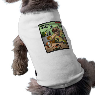 Great Sushi Rebellion Funny Gifts Tees Cards Etc Doggie T Shirt